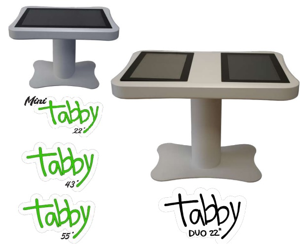 Tabby tavolo touch screen